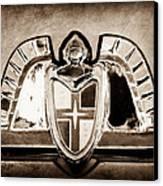 Lincoln Emblem Canvas Print by Jill Reger