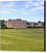 Longleat House - Wiltshire Canvas Print by Joana Kruse