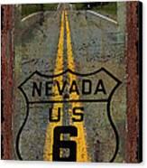 Lost Highway Canvas Print by John Stephens
