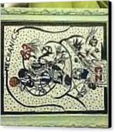 Mechanics Canvas Print by Mj  Museum