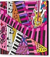 Musical Wonderland Canvas Print by Maverick Arts