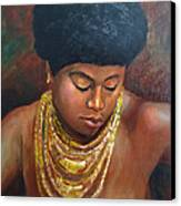Naomi Canvas Print by Dominic Giglio