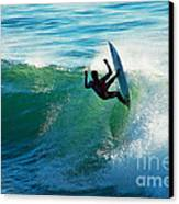 Off The Lip Canvas Print by Paul Topp