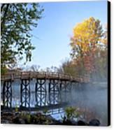 Old North Bridge Concord Canvas Print by Brian Jannsen