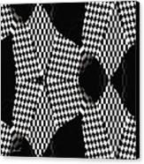 Organic Optical Illusion 4 Canvas Print by The Art of Marsha Charlebois