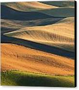 Patterns Of The Palouse Canvas Print by Latah Trail Foundation