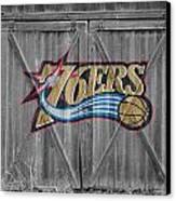 Philadelphia 76ers Canvas Print by Joe Hamilton