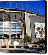 Philadelphia Eagles - Lincoln Financial Field Canvas Print by Frank Romeo