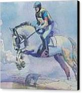 Polo Art Canvas Print by Catf