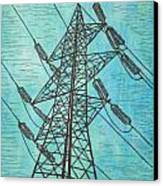 Power Canvas Print by William Cauthern