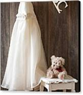 Pretty Dress Canvas Print by Amanda And Christopher Elwell