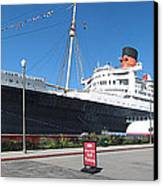 Queen Mary - 12121 Canvas Print by DC Photographer