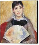 Renoir, Pierre-auguste 1841-1919. Girl Canvas Print by Everett