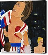 Rocky Balboa Canvas Print by Don Larison