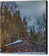 Small Barn Canvas Print by Paul Freidlund