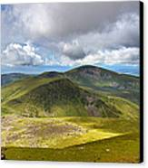 Snowdonia Panorama Canvas Print by Jane Rix