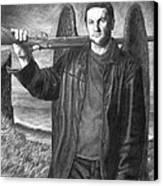 St. Michael Canvas Print by Mark Zelmer
