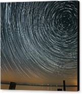 Star Trails 1 Canvas Print by Benjamin Reed