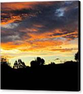 Sunset New Zealand  Canvas Print by Joyce Woodhouse