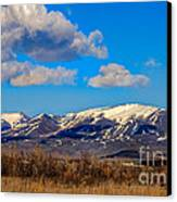 The Butte Canvas Print by Robert Bales