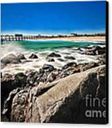 The Jersey Shore Canvas Print by Paul Ward