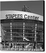 The Staples Center Canvas Print by Mountain Dreams