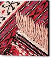 Turkish Rug Canvas Print by Tom Gowanlock