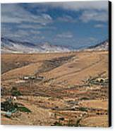 Valle De Santa Ines 2 Canvas Print by Michael David Murphy
