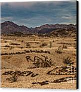 Valley Of The Names Canvas Print by Robert Bales