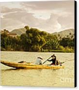 Vietnamese Fishermen Canvas Print by Fototrav Print