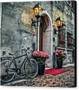 Vintage Bicycle Canvas Print by Dobromir Dobrinov
