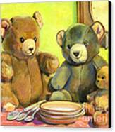 Waiting For Goldilocks Canvas Print by Joose Hadley