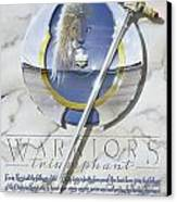 Warriors Triumphant Canvas Print by Cliff Hawley