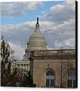 Washington Dc - Us Capitol - 011314 Canvas Print by DC Photographer