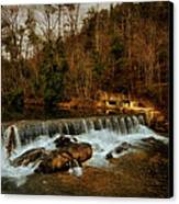 Waterfall Canvas Print by Mario Celzner
