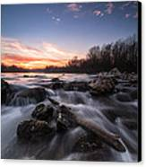 Wild River Canvas Print by Davorin Mance