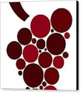 Wine Grape Canvas Print by Frank Tschakert
