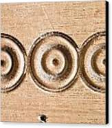 Wood Carving Canvas Print by Tom Gowanlock