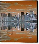 Yesterday Reflexions Canvas Print by Coqle Aragrev
