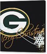 Green Bay Packers Canvas Print by Joe Hamilton