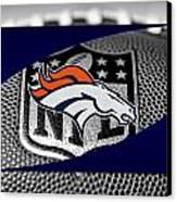 Denver Broncos Canvas Print by Joe Hamilton