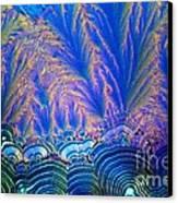 Vitamin C Crystal Canvas Print by M I Walker