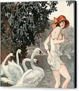 La Vie Parisienne  1923 1920s France Canvas Print by The Advertising Archives