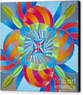 Mandala Canvas Print by Martin Zezula