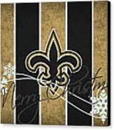 New Orleans Saints Canvas Print by Joe Hamilton