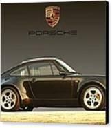 Porsche 911 3.2 Carrera 964 Turbo Canvas Print by Ganesh Krishnan