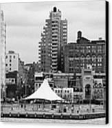 165 Charles Street Pier 45 Hudson River Park New York City  Canvas Print by Joe Fox