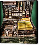 1800's Fingerprint Kit Canvas Print by Lee Dos Santos