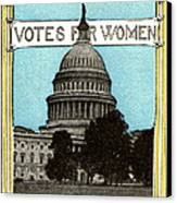 1913 Votes For Women Canvas Print by Historic Image