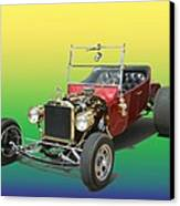 1923  Ford T Bucket  Canvas Print by Jack Pumphrey